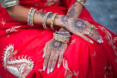 Front Hand Look Wedding Mehndi