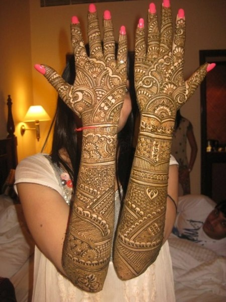 Full Hand Bridal Mehandi Designs