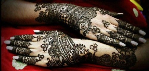 Pakistani Bridal Mehandi Designs