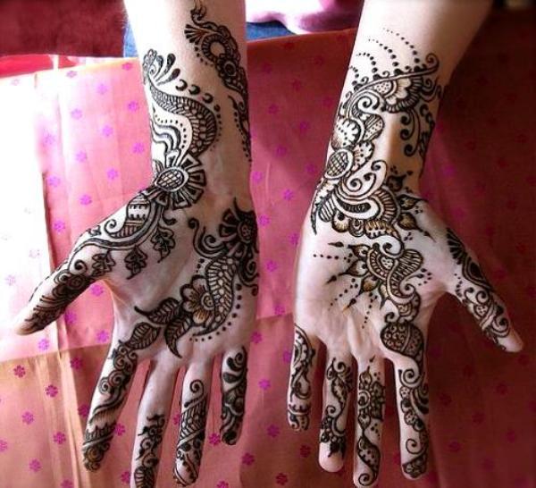 Rajasthani Marwari Bridal Mehendi Design