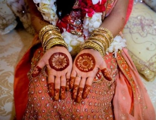 Simple Bridal Mehandi Designs for Hands