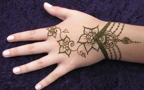 Leg Mehndi Designs Easy Only : Latest mehndi designs henna simple stylish a best fashion