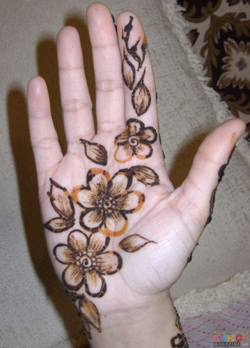 Latest Mehndi Designs Henna Simple Stylish