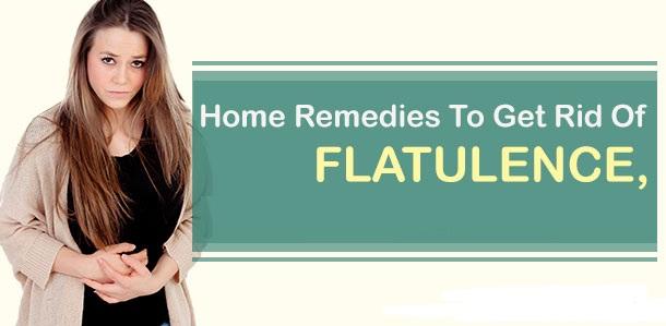 get rid of flatulence