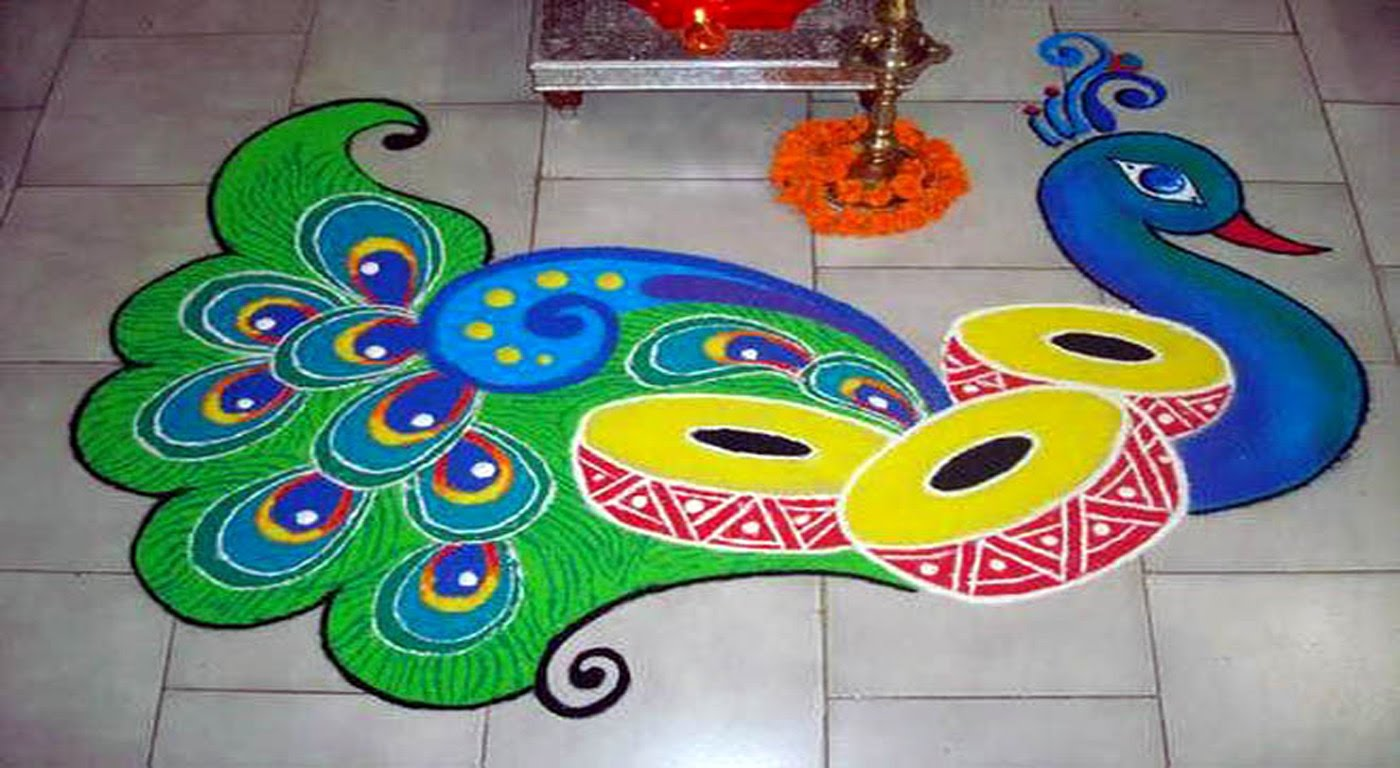 Decorate Your House With Latest Rangoli Designs On Diwali