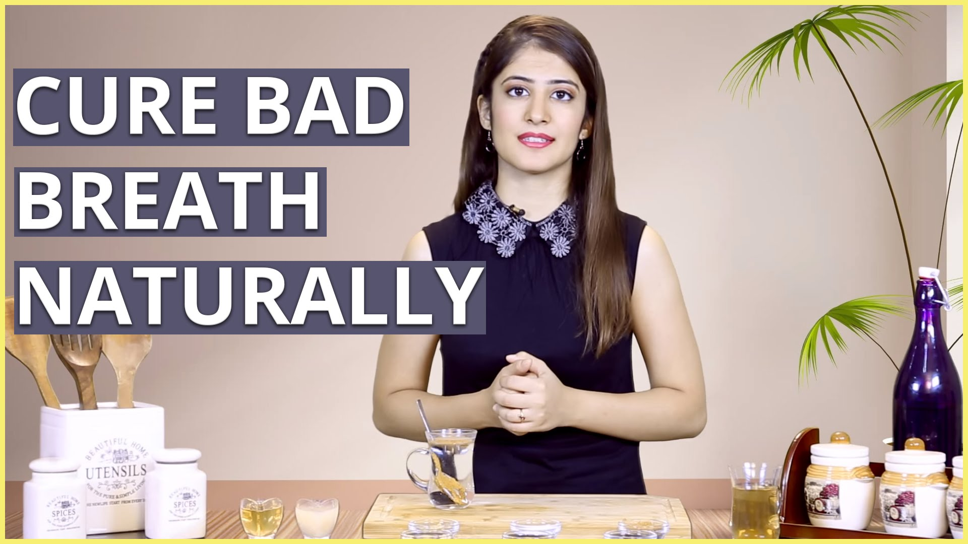 how to cure bad breath permanently