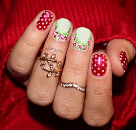 polka-dot-nail5