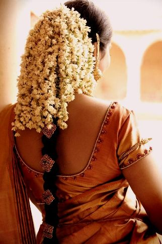 south indian bridal hairstyles for a gracious look