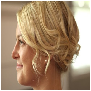 An Amorous Updo for Bob Length