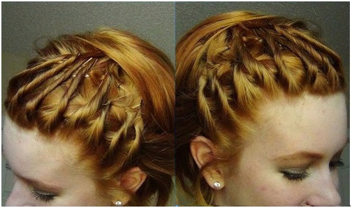 An Updo with Twist