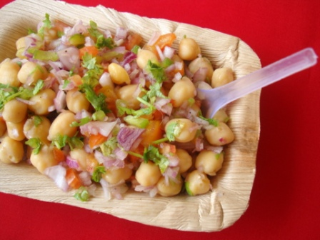 Channa-Chaat