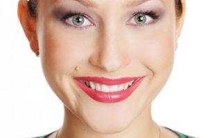 maddona lip piercing
