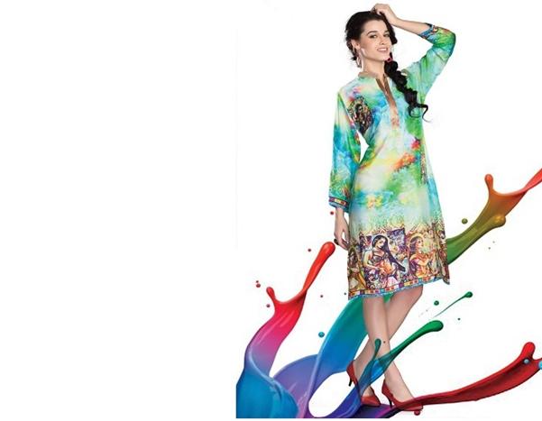 summer designer kurti