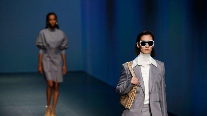 Hugo Boss in Milan Fashion Week