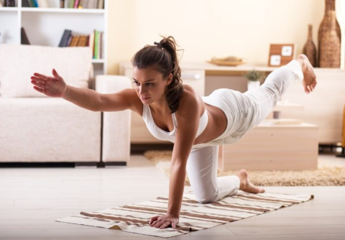 Easy Yoga Practice at home