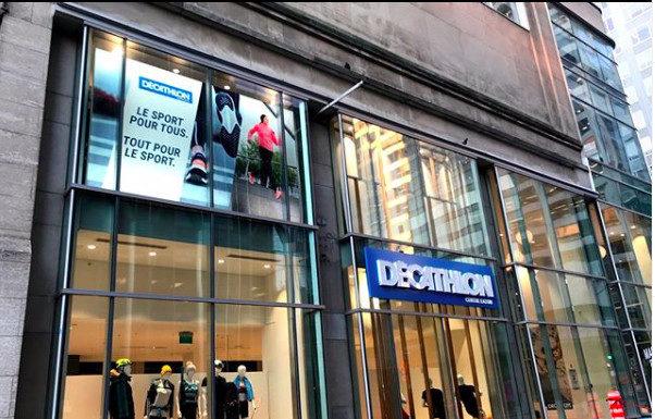 Décathlon stores