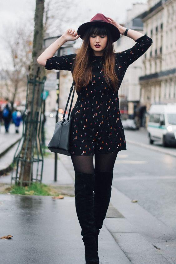 Wear Dresses In Winter
