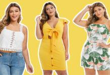curvy girls summer outfit ideas