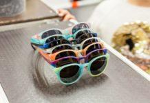 Recycled plastic sunglasses