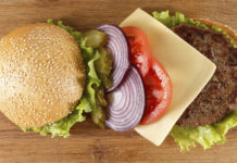 Healthy burger topping