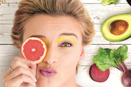 healthy food for skin
