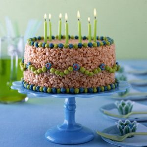 No bake birthday cake