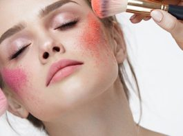 How to apply blush correctly