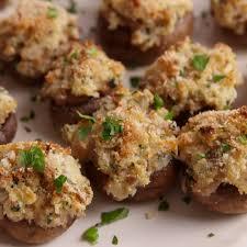 Boursin stuffed mushrooms recipe