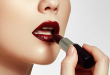How to apply lipstick on dark lips