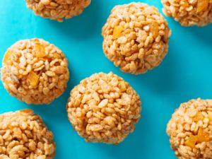 puffed rice balls recipe