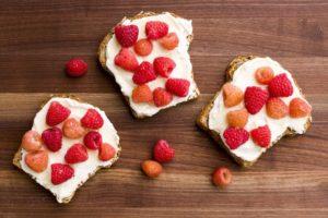 ricotta berry toast recipe