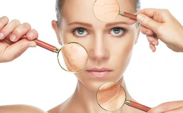 skin conditions caused by stress, stress effects on face