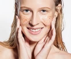 exfoliate the face