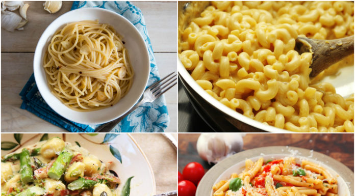 Homemade pasta recipes