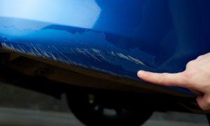 repair or replace cracked bumper