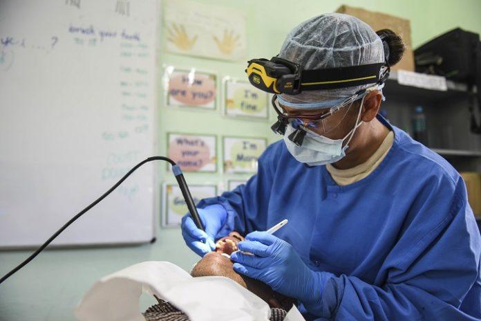 deep dental cleaning