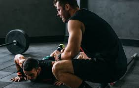 Personal trainer will motivate you