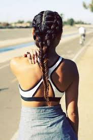french braid for workout