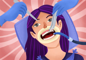 does getting braces hurt