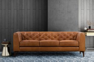 Poly and Bark Essex Leather Sofa