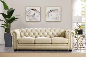 Hydeline Aliso Leather Sectional Sofa