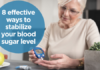 ways to stabilize your blood sugar level
