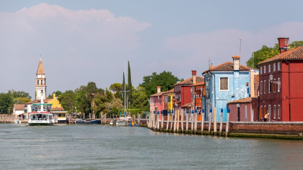 Colorful Buildings In Italy