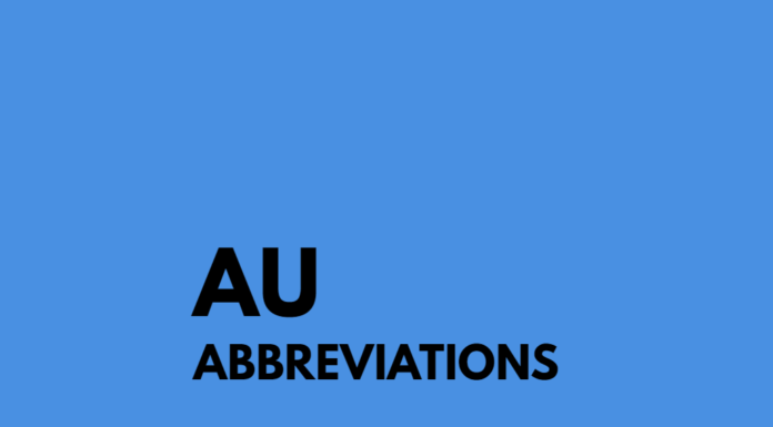What Does AU Mean?
