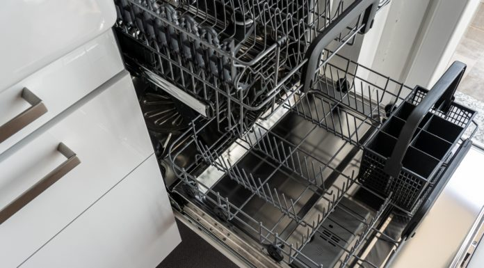 remove a dishwasher